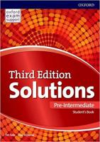 Solutions (3rd edition) Pre-Intermediate: Student's Book