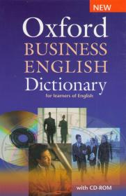 Oxford Business English Dictionary with CD-ROM