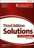Solutions (3rd edition) Pre-Intermediate Teacher's Book with Teacher's Resource Disk and Workbook Audio CD